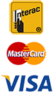 Interac - Visa - Master Card